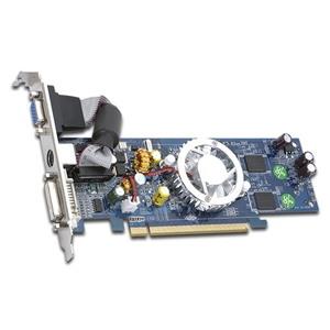 PC Parts Unlimited 3DFR73256GSLPE BFG NVIDIA GeForce 7300 GS Graphics Card