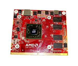 Video Cards> Mobile Video Cards> 109-C07751-10 Radeon HD 6450 512MB GDDR3  MXM Graphics Card AMD