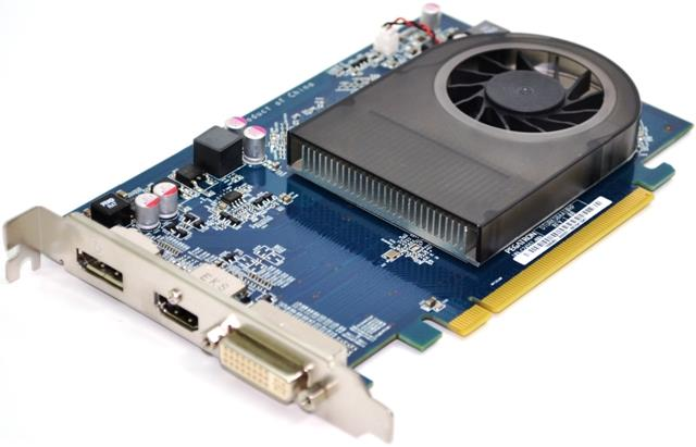 Picture Of HP 695635 001 Radeon HD 7570 2GB GDDR3 PCIe X16 Video Card