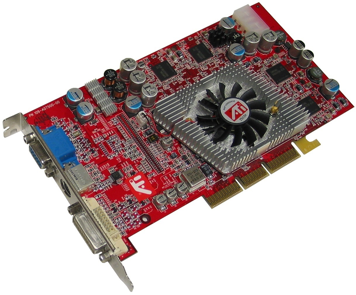 Picture Of IGT 109 A07500 00 ATI Radeon 9800 Pro Video Card